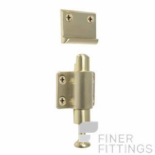 WINDSOR 5194 USB SOLID BRASS SPRING CATCH UNLACQUERED SATIN BRASS