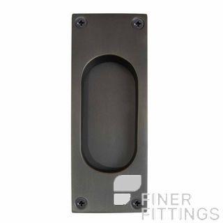 WINDSOR BRASS 5040 DRB 125X45MM FLUSH PULL DARK ROMAN BRASS