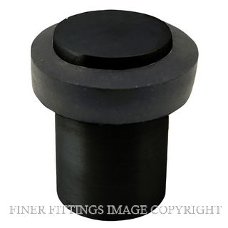 WINDSOR 5264 BLK 60MM DOORSTOP ALI FLOOR MOUNT MATT BLACK