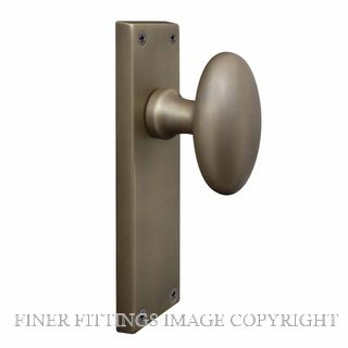 WINDSOR BRASS RB TRADITIONAL OVAL KNOB HANDLES ROMAN BRASS