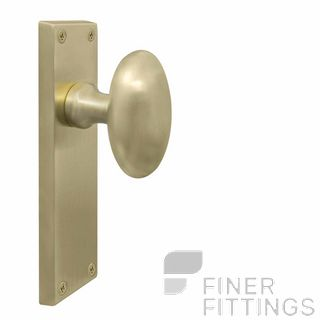 WINDSOR BRASS USB TRADITIONAL OVAL KNOB HANDLES UNLACQUERED STAIN BRASS