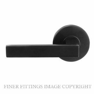 WINDSOR BRASS 9221 - 9225 HALO POLARIS LEVER SETS MATT BLACK