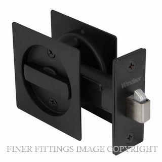 WINDSOR 5331 BLK CAVITY-SUITE PRIVACY KIT SQUARE MATT BLACK