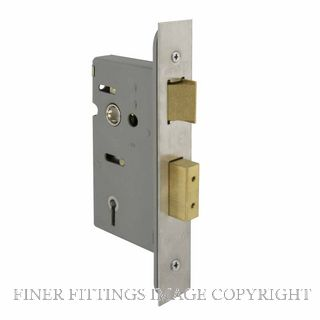 WINDSOR 1103 SS 45MM 5 LEVER MORTICE LOCK STAINLESS STEEL 304