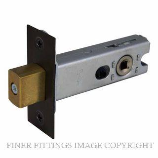 WINDSOR BRASS 1173-1243 BLK PRIVACY BOLTS MATT BLACK