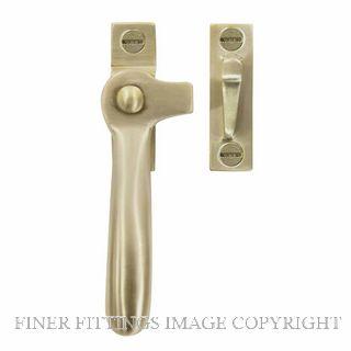WINDSOR 5195L USB SPLIT RAIL FASTENER - LEFT HAND UNLACQUERED SATIN BRASS