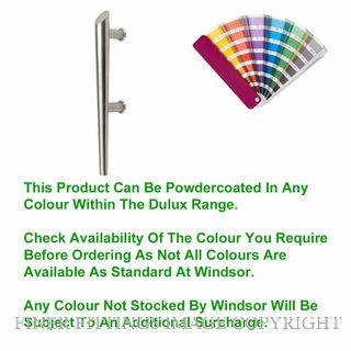 WINDSOR 7103 - 7104 TORCH PULL HANDLES POWDERCOAT