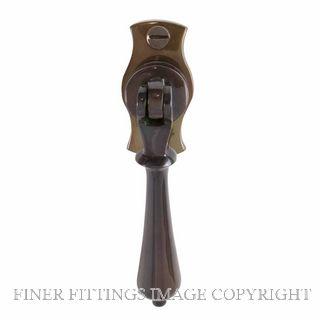 WINDSOR 5157 AB SINGLE DOOR PULL TEARDROP ANTIQUE BRONZE