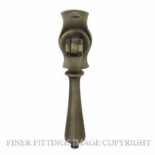 WINDSOR 5157 RB SINGLE DOOR PULL TEARDROP ROMAN BRASS