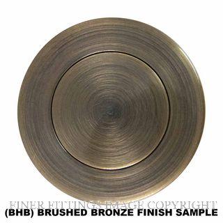WINDSOR 5158 BHB SINGLE DOOR PULL SQUARE BRUSHED BRONZE