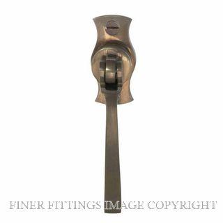 WINDSOR 5158 NB SINGLE DOOR PULL SQUARE NATURAL BRONZE