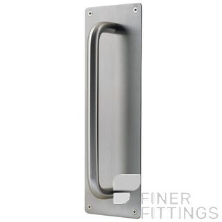 WINDSOR 7184 SS PULL ON 300X100MM PLATE STAINLESS STEEL