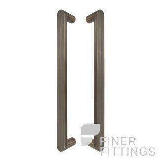 WINDSOR 8336 - 8337 BHB KEPLER PULL HANDLES BRUSHED BRONZE