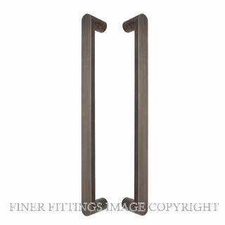 WINDSOR 8336 - 8337 OR KEPLER PULL HANDLES OIL RUBBED BRONZE