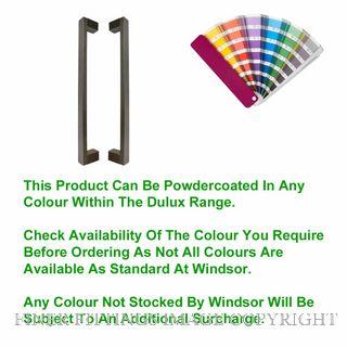 WINDSOR 8341 - 8342 PC TASMAN PULL HANDLES POWDERCOAT