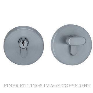 MNDEAD2 S RANGE ROUND DEADBOLT SATIN CHROME