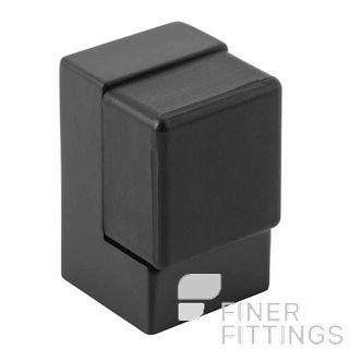 IVER 20823 DOOR STOP FLOOR MOUNT MATT BLACK