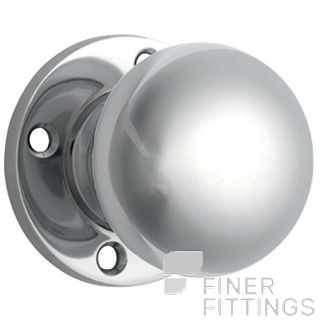 TRADCO 0697 KNOB SETS SUITS EXISTING 54MM HOLES CHROME PLATE