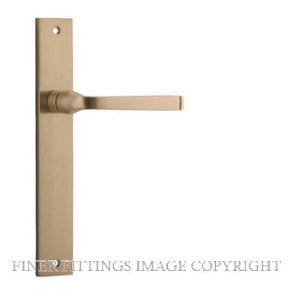 IVER 15708 ANNECY RECTANGULAR PLATE BRUSHED BRASS