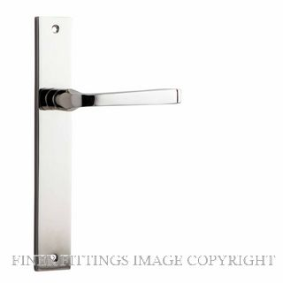IVER 14208 ANNECY RECTANGULAR PLATE POLISHED NICKEL