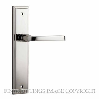 IVER 14244 ANNECY STEPPED PLATE POLISHED NICKEL