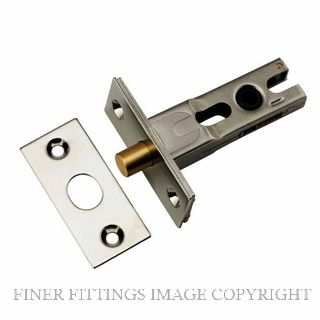 IVER 20586 - 20588 PRIVACY BOLTS POLISHED NICKEL