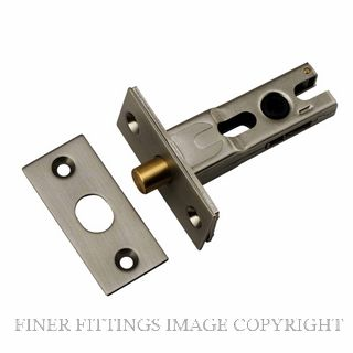 IVER 20589 - 20591 PRIVACY BOLTS SATIN NICKEL