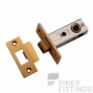 IVER 21468 - 21470 SPLIT CAM LATCHES BRUSHED BRASS