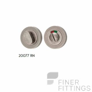 IVER 20077 ROUND INDICATING PRIVACY SET 52MM RUMBLED NICKEL