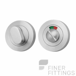 IVER 20075 ROUND INDICATING PRIVACY SET 52MM SATIN CHROME