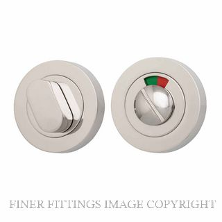 IVER 20078 ROUND INDICATING PRIVACY SET 52MM POLISHED NICKEL