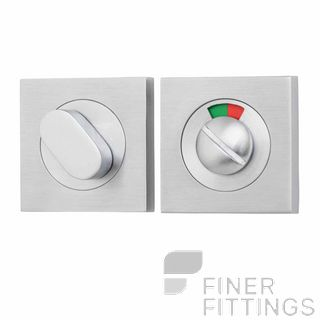 IVER 20115 SQUARE INDICATING PRIVACY SET 52MM SATIN CHROME