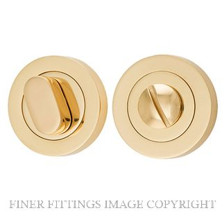 IVER 9310 PRIVACY TURN 52MM POLISHED BRASS