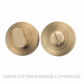 IVER 9361 PRIVACY TURN 52MM BRUSHED BRASS