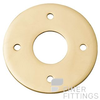 IVER 9370 ADAPTOR PLATE - SUIT 54MM HOLE (SOLD AS A PAIR) POLISHED BRASS