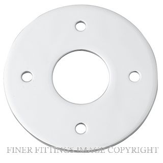IVER 9374 ADAPTOR PLATE - SUIT 54MM HOLE (SOLD AS A PAIR) CHROME PLATE