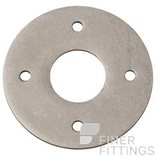 IVER 9377 ADAPTOR PLATE - SUIT 54MM HOLE (SOLD AS A PAIR) DISTRESSED NICKEL