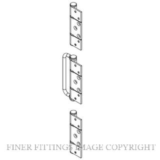 BRIO BW7-150H OFFSET HINGE HANDLE SET NON MORTICED