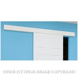 BRIO STRAIGHT SLIDING SINGLE WARDROBE DOORS