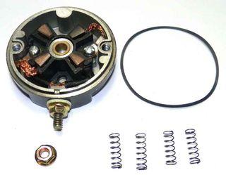 Johnson / Evinrude Starter Brushed Com End Plate