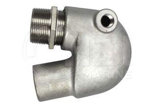 Yanmar  1, 2 & 3GM + 2 & 3QM Exhaust Mixing Elbow