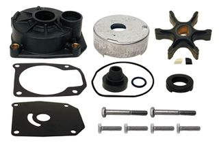 Complete Water Pump Kit J/E 40-60 2 Cyl  95-04