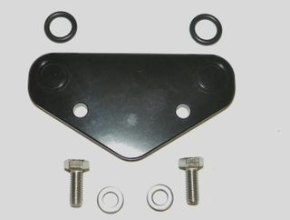 Kawasaki 650 750 Oil Block Off Plate