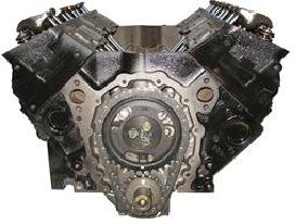 GM 350 Long Block Engine