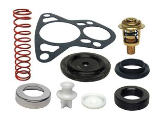 Thermostat Kit Johnson / Evinrude V6 Crossflow 143 Deg F