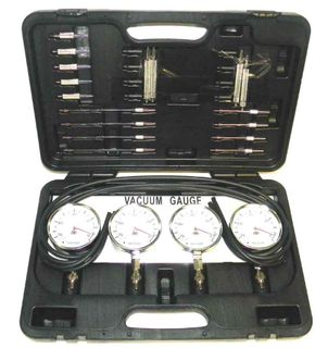 4 Cyl. Carburetor Synchronizer Kit With Plastic Case