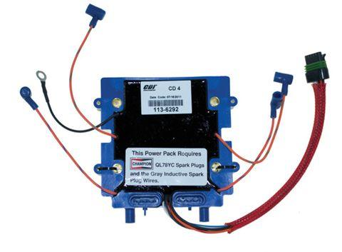 Johnson / Evinrude 90-175 Hp 4 Cylinder Optical Power Pack