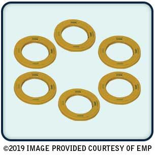 Drain Plug Seal (Yellow) Mercury / Mercruiser (Pack of 6)