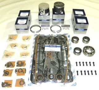 Mercury 175 Hp Sport Jet Power Head Rebuild Kit .010 Over