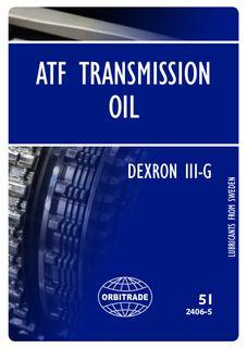 ATF 5 Lt - Power Trim, Trim Tabs & Transmissions
